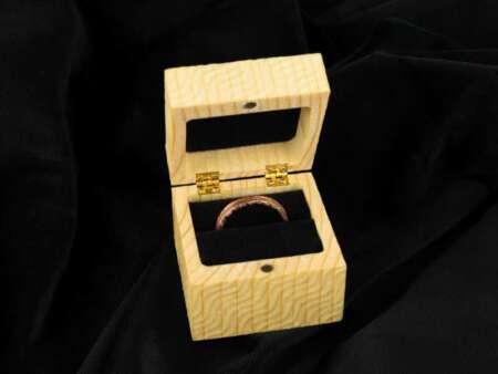 Cutie din Lemn Inel 2