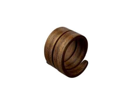 Inel din Lemn Spirală 2