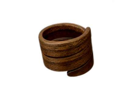Inel din Lemn Spirală
