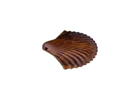 Pandantiv din Lemn Shell 1