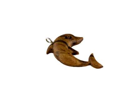 Pandantiv din lemn Dolphin 1