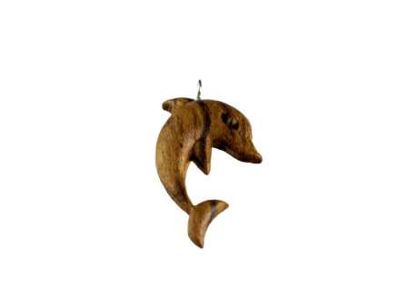 Pandantiv din lemn Dolphin
