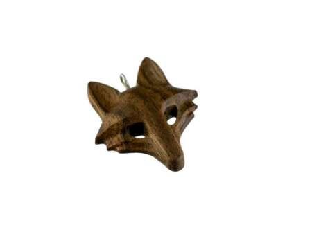 Pandantiv din lemn Wolf 1
